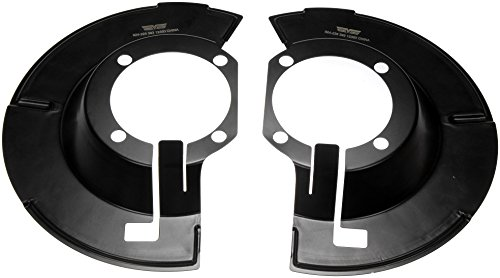 Brake Dust Shields Parts - Dorman 924-228 Brake Dust Shield, Pair
