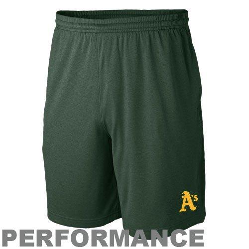 Nike Oakland Athletics Green MLB Performance Training Shorts (XX-Large) - Nike Mlb Shorts