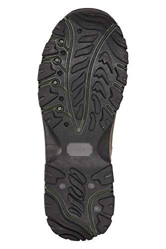 Mountain Warehouse Boots Hommes Adventurer - Chaussures imperméables, Textile & synthétique, adhérence supplémentaire… 3