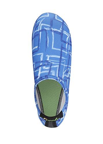 Fritt Nya Barfota Vatten Hud Skor Aqua Strumpor För Stranden Simma Surfa Yoga Övning F.blue