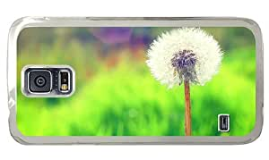 Hipster Samsung Galaxy S5 Case best dandelion PC Transparent for Samsung S5