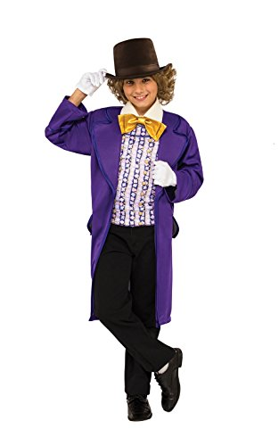 Rubie's Costume Kids Willy Wonka & The Chocolate Factory Willy Wonka Value Costume, Large for $<!--$17.69-->