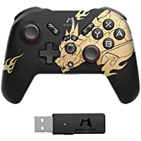 Controle remonner mobapad Caçador de monstros ascensão gamepad sem fio bluetooth controlador joystick para nintendo…