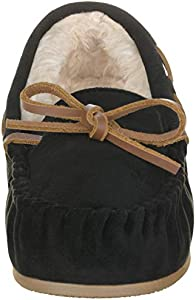 ILLUDE Women/'s Moccasin Slipper Vegan Suede Faux Fur Lined Indoor /& Outdoor Moccasins Slip On Loafers Moccasins Shoes
