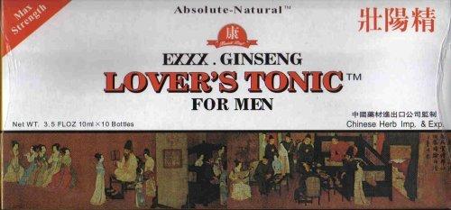 Beauti Leaf - Exxx. Ginseng Lover's Tonic For Men, 10 ml x 10 Bottles