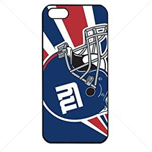 NFL American football New York Giant Fans Case For Iphone 6 Plus (5.5 Inch) Cover PC Soft (Black)
