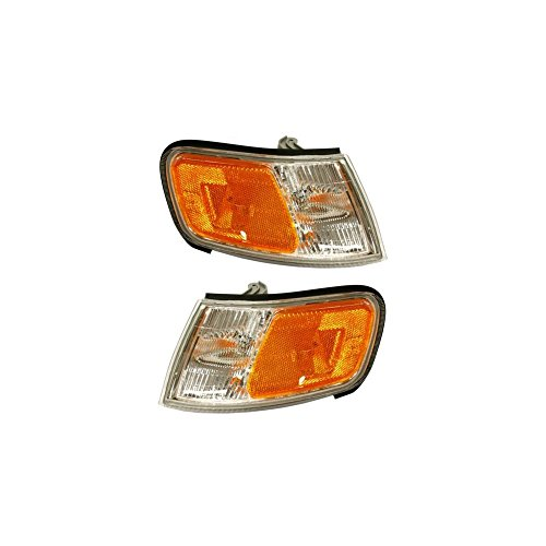 (Evan-Fischer EVA20572054939 Corner Light Set Of 2 For Accord 94-97 Right and Left Side Included Park/Side Marker Lamp Assembly)