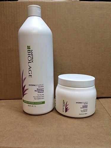 Matrix Biolage Hydrasource Shampoo 33.8oz and Conditioner 16.9oz Duo Hair Product