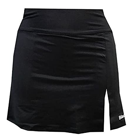 Falda Padel Black Crown Mujer Zurich Negra-L: Amazon.es ...
