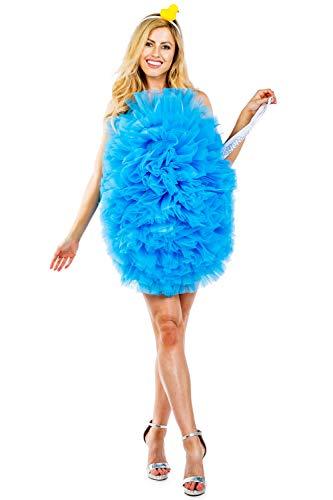 Loofah For Halloween Costume (Tipsy Elves Women's Funny Loofah Costume Dress - Shower Loofah Halloween Costume:)