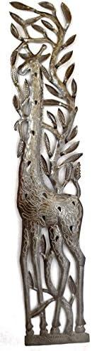 Woodland Imports 56837 Majestically Designed Metal Wall Decor, 53x36x5, Silver