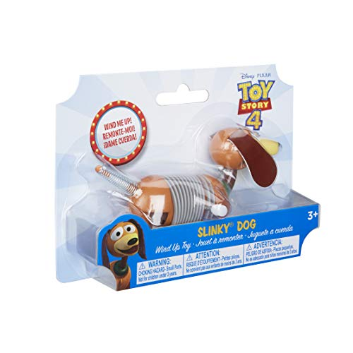 Slinky Dog Toy - Slinky Disney Pixar Toy Story 4 Wind-Up Dog