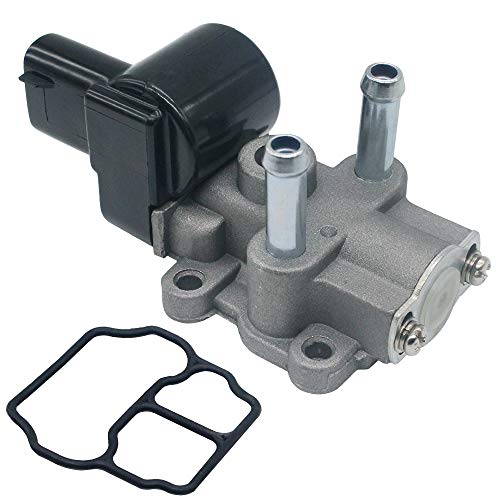 (22270-03030 Idle Air Control Valve with Gasket Fits:Toyota Camry 1997-2000 Solara 1999-2000 22270-4340)