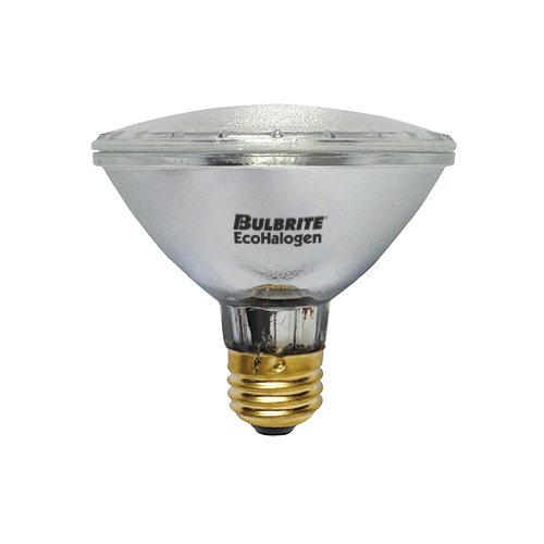 - Bulbrite H60PAR30SP/ECO 60-Watt ECO Halogen PAR30, 75W Halogen Equivalent, Medium (E26) Base, 120V, Spot