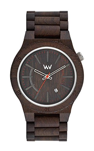 WeWood ASSUNT CHOCOLATE 100% Natural Hypo-Allergenic Wood Watch