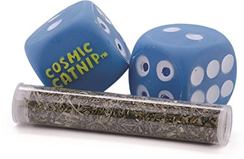 OurPets Catnip Vinyl Refillable Dice Cat Toy, Catnip Shooter