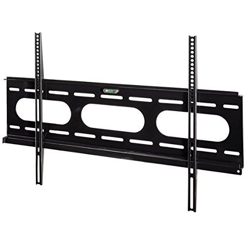 Hama TV-Wandhalterung Ultraslim für 94-229 cm Diagonale (37-90 Zoll) Fernseher (max. 75 kg) VESA bis 800 x 400, Wandabstand schwarz