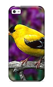 Hot Nice Yellow Bird First Grade Tpu Phone Case For Iphone 5c Case Cover