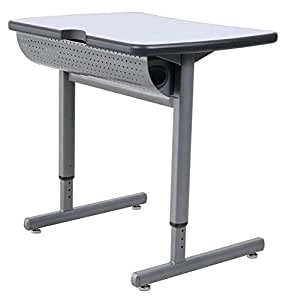 "Intuitive Computer Lab Table - 22""W x 29""L x 23 1/2""-34 1/2""H"