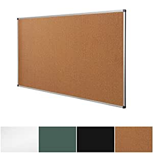 Beautiful Cork Notice Pin Board | Aluminum Framed Memo Board For Office And Home Use  | 3