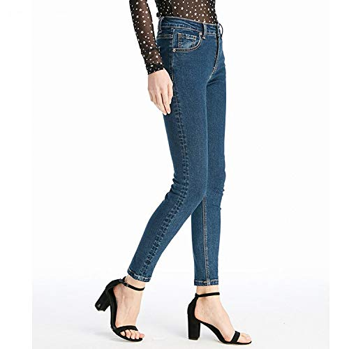 In Xs Stile Vita Punti Forza Mvguihzpo Vita Nuovo Corpo Nove Del Jeans Blu Pantaloni Jeans S Cowboy Donna 0XcXCqUwxT