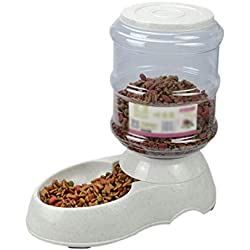 3.5L Pet Drinkers Cat Dog Automatic Feeder Drinking Animal Pet Bowl Water Bowl,Food,3.5L1