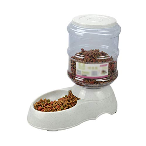 Automatic Cat Feeder Reviews - 3.5L Pet Drinkers Cat Dog Automatic Feeder Drinking Animal Pet Bowl Water Bowl,Food,3.5L