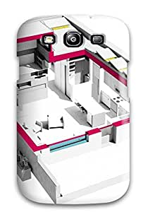 Awesome IHtmHCT11890mgWSV AnnDavidson Defender Tpu Hard Case Cover For Galaxy S3- Architecture Home Map