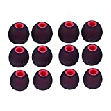 Sunmns 6 pairs Silicone Eartips Earbuds Eargels Earpads Ear Tips Gels Bud for SENSO, ZEUS, Otium, Hussar Sport Bluetooth Headphones