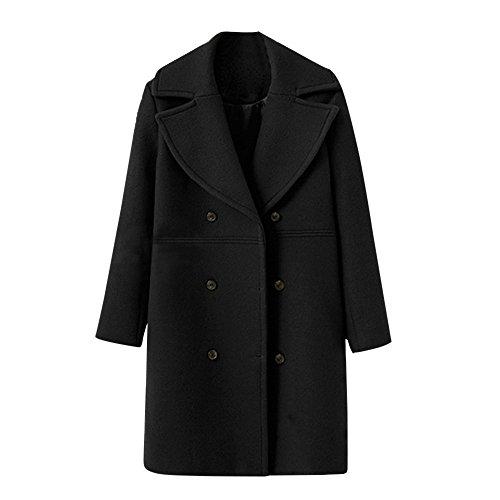 Fashion Women Ladies Ruffle Lapel Long Sleeve Cardigan Jacket Coat Tops Outwear