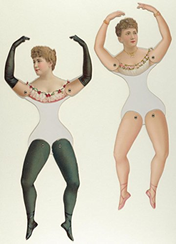 (Littauer and Boysen | Ballerina and Bloomer Girls (Prima Donna) Paper Dolls | Antique Vintage Fine Art Print Reproduction 08in x 12in)
