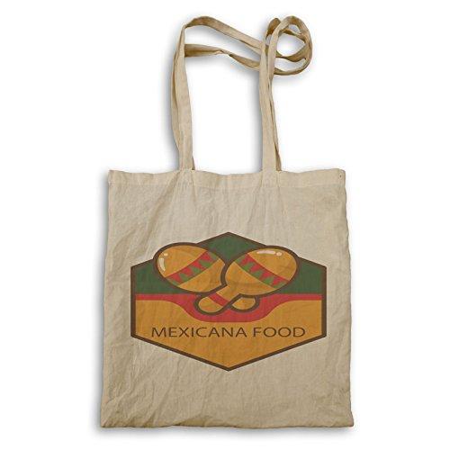 Mexikanisches Essen Mexicana Tragetasche r199r