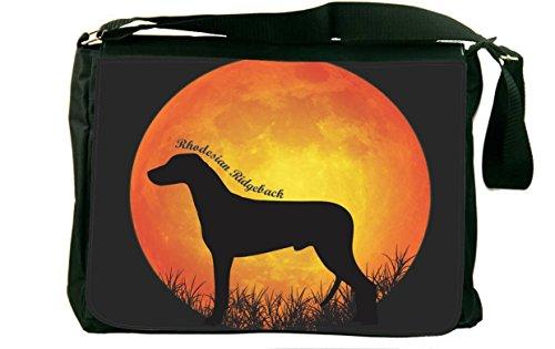 Rikki Knight Rhodesian Ridgeback Dog Silhouette by Moon D...