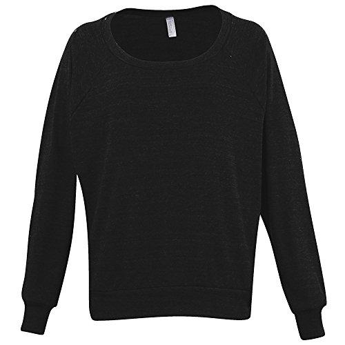 American Apparel Womens/Ladies Lightweight Tri-Blend Pullover Sweater/Jumper (L) -