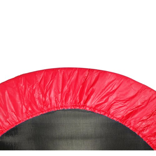 38-Round-Trampoline-Safety-Pad-Spring-Cover-for-6-Legs-Red