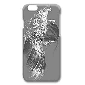 iPhone 6 Plus Case,Fashion Durable 3D DIY design for Apple iPhone 6 Plus(5.5 inch),PC material iPhone 6 Plus Cover ,Safeguard Phone from Damage ,Designed Specially Pattern with Howling Wolf Girl Drawing. by runtopwell
