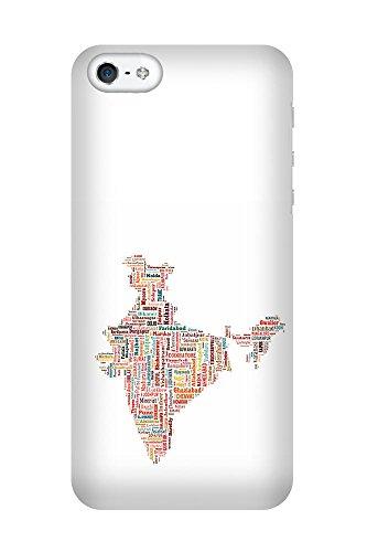 iPhone 4/4S Coque photo - Inde Carte