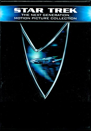 5-DVD Boxed Set : STAR TREK THE NEXT GENERATION MOTION PICTURE COLLECTION (Generations/First Contact/Insurrection/Nemesis/Evolutions) Widescreen/Region 1