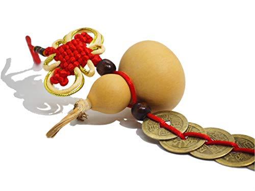 [해외]結吉 (유) 풍수 표 주 박 (바가지) 五 帝 고전 인형 행운 상품 지갑 객실 차 복도 사용 설명서 첨부 (표 주 五 帝 고전) / Yukichi (Yu) feng shui gourd (gourd) Five Emperor Kosen figurine Good luck goods purse room car Entrance instruction...