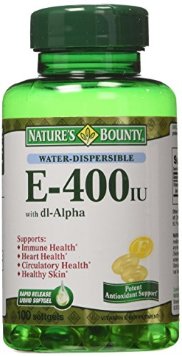 Natures Bounty Vitamin dl Alpha Softgels