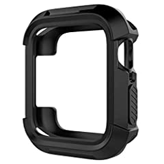 FEATURES1.It is made of soft and flexible material will not scratch your watch.2.this case fit the Apple Watch perfectly. You may have accurate access to the screen, power button, the Digital Crown, the speaker and microphone3.Slim and lightw...