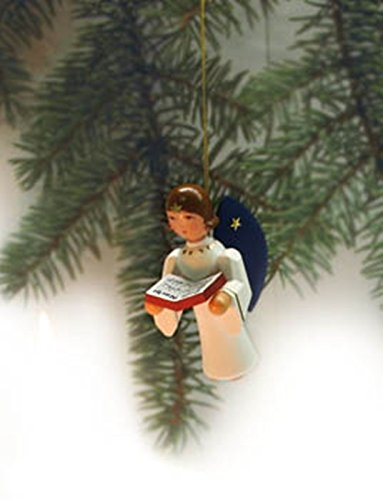 Baumbehang Schäferei natur 6,5cm NEU Christbaumschmuck Seiffen Weihnachtsbaum
