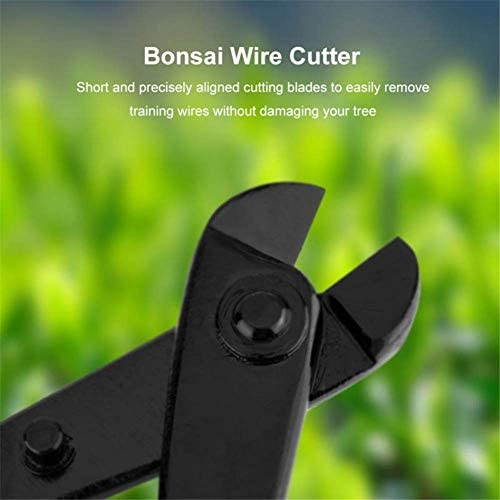 ZTBXQ Hardware Tools Wire cutter pruners and secateurs Less Effort Sharp Easy Cut Lightweight Quick Long Lasting Gardening Bonsai Steel Blade Sharp tool black