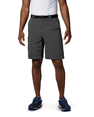 Texas A&m Fan Pull - Columbia Men's Silver Ridge Cargo Short, Grill, 36x12