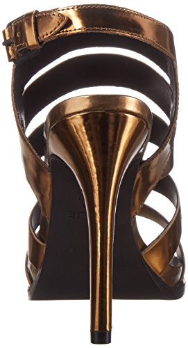 Atelje 71 Soire Robe Femme Sandale Bronze