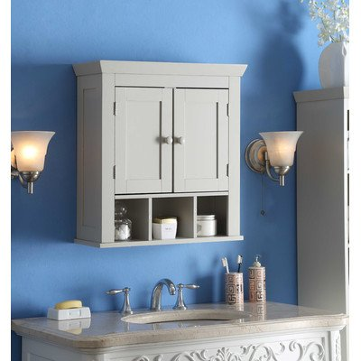 4D Concepts 90620 Rancho Wall Cabinet, Vanilla Cappuccino