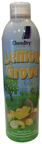 Chem-Dry Carpet Deodorizer (Lemon Grove) - with Built-in Soil (Grove Scent)