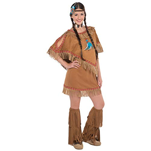 Teen Native American Princess Costume - Junior Small (3-5) | 3 Ct.