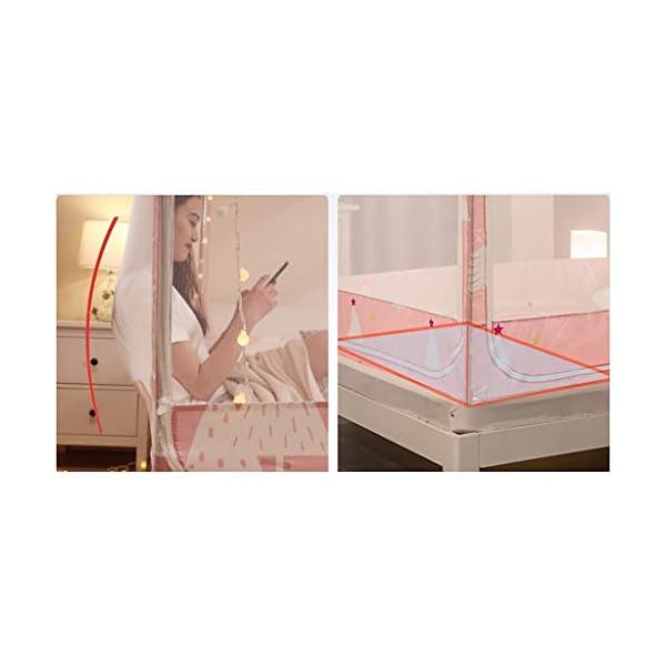 Antipolvere Yurt zanzariera, 1,8 m Letto 1,5 m casa 2m goccia a prova di Child Support completamente chiusa cerniera… 4 spesavip