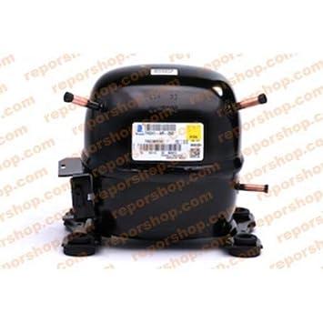 REPORSHOP - COMPRESOR EMBRACO THB4419Y R134 Media Temperatura Motor 5,20CC 220/240V: Amazon.es: Hogar